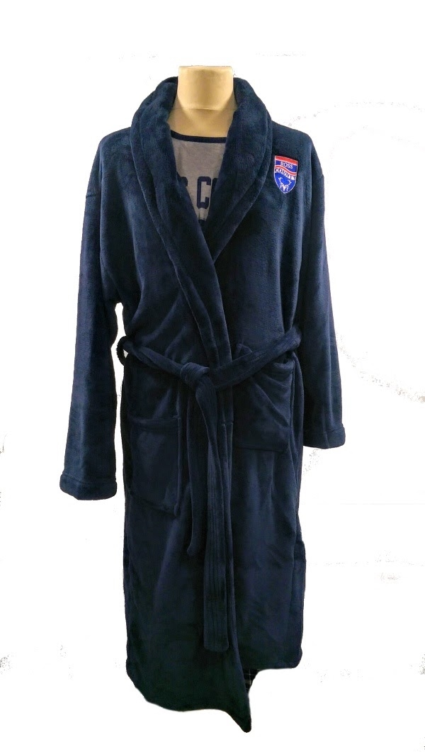 Ross County FC Club Shop. Blue Dressing Gown