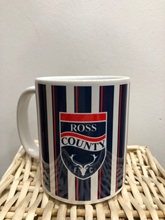 Picture of Blue stripe design RCFC mug