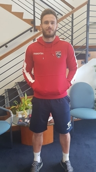 Picture of SKA Red Hoody with Club Crest