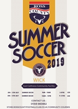 Picture of WICK - SUMMER SOCCER PROGRAMME 2019