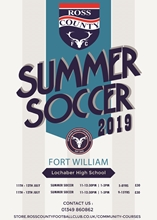 Picture of FORT WILLIAM - SUMMER SOCCER PROGRAMME 2019