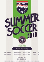 Picture of NAIRN - SUMMER SOCCER PROGRAMME 2019