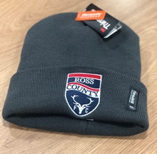 Picture of Grey Beanie Hat with Club Crest