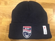 Picture of Navy Beanie Hat with Club Crest