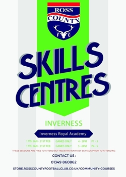 Picture of Inverness Royal Academy - Skills Centre GAMES ONLY P4-P5