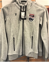 Picture of Grey Lyre Hoody with Club Crest