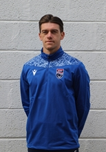 Picture of Tagus Blue 1/4 Zip Training Top