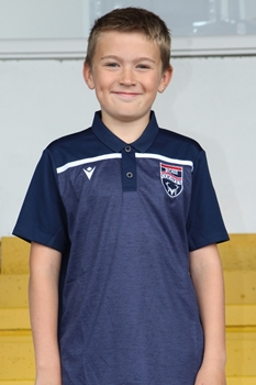 Picture of Youth Navy Jumeriah Polo Top