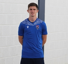 Picture of Blue Nash T-Shirt with Club Crest - Large