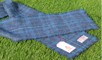 Picture of Limited Edition  Harris Tweed Scarf in Ross County Tartan