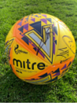 Picture of Special Edition Signed Match Ball