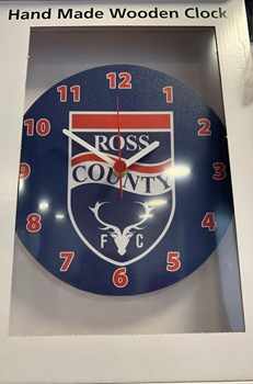 Picture of RCFC Wooden Clock