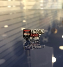Picture of NEW Staggies Army Pin Badge